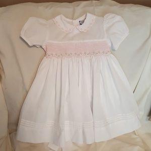 Baby girl smoked dress